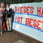 Senioren besetzen Haus in Berlin