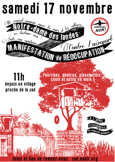 Reoccupy the ZAD ! November 17th, 2012