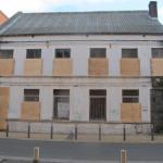 Evicted squat, Rue Neuve, in Calais