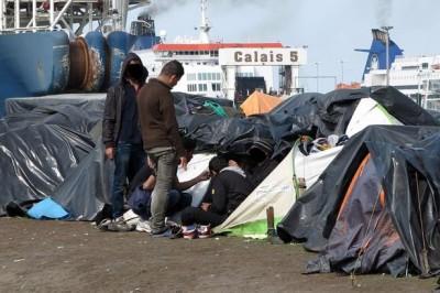 2014_Calais_campement_rue_Lamy_