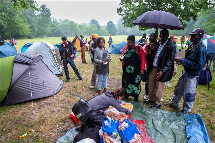 2014-07-09_Amsterdam_Wij_Zijn_Hier_vluchtelingen_Oosterpark_